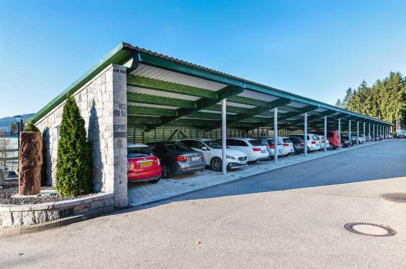 Zimmerei Hasenfratz - Referenzen - Parkanlage Schwarzwaldhotel