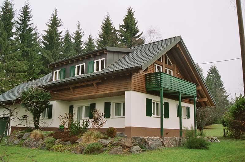 Zimmerei Hasenfratz - Referenzen - Aufstockung Wohnhaus