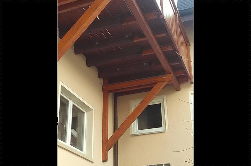 Zimmerei Hasenfratz - Referenzen - Balkonvergrößerung