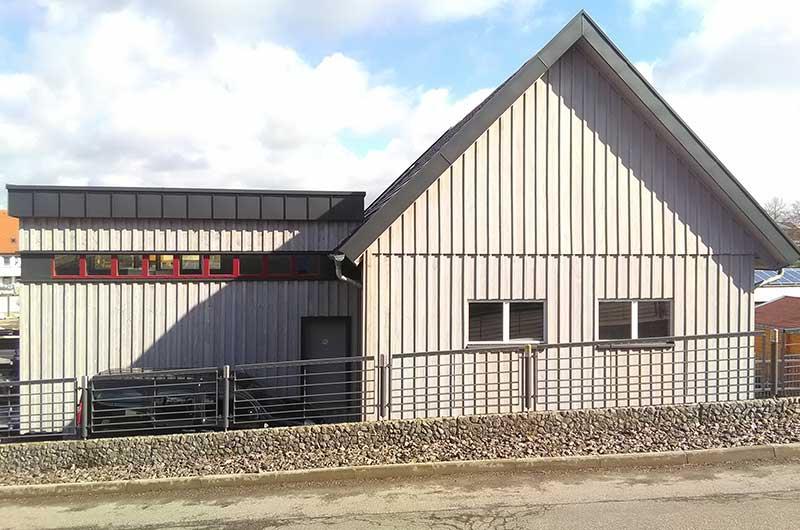 Zimmerei Hasenfratz - Referenzen - Lagerhallenerweiterung