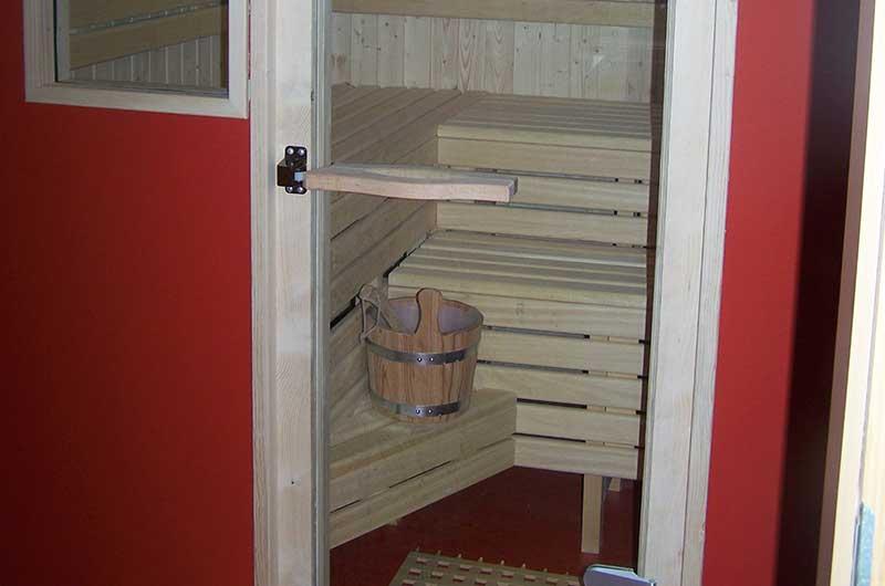 Zimmerei Hasenfratz - Referenzen - Treppenhaus-Sauna