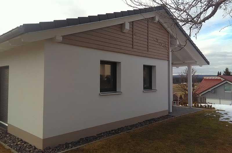 Zimmerei Hasenfratz - Referenzen - Dachstuhl-Erweiterung