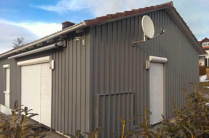 Zimmerei Hasenfratz - Referenzen - Wohnhaus mit Holzschalung
